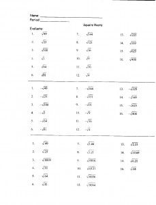 math worksheet : multiplication square roots worksheets  exponents and radicals  : Multiplication Squares Worksheet