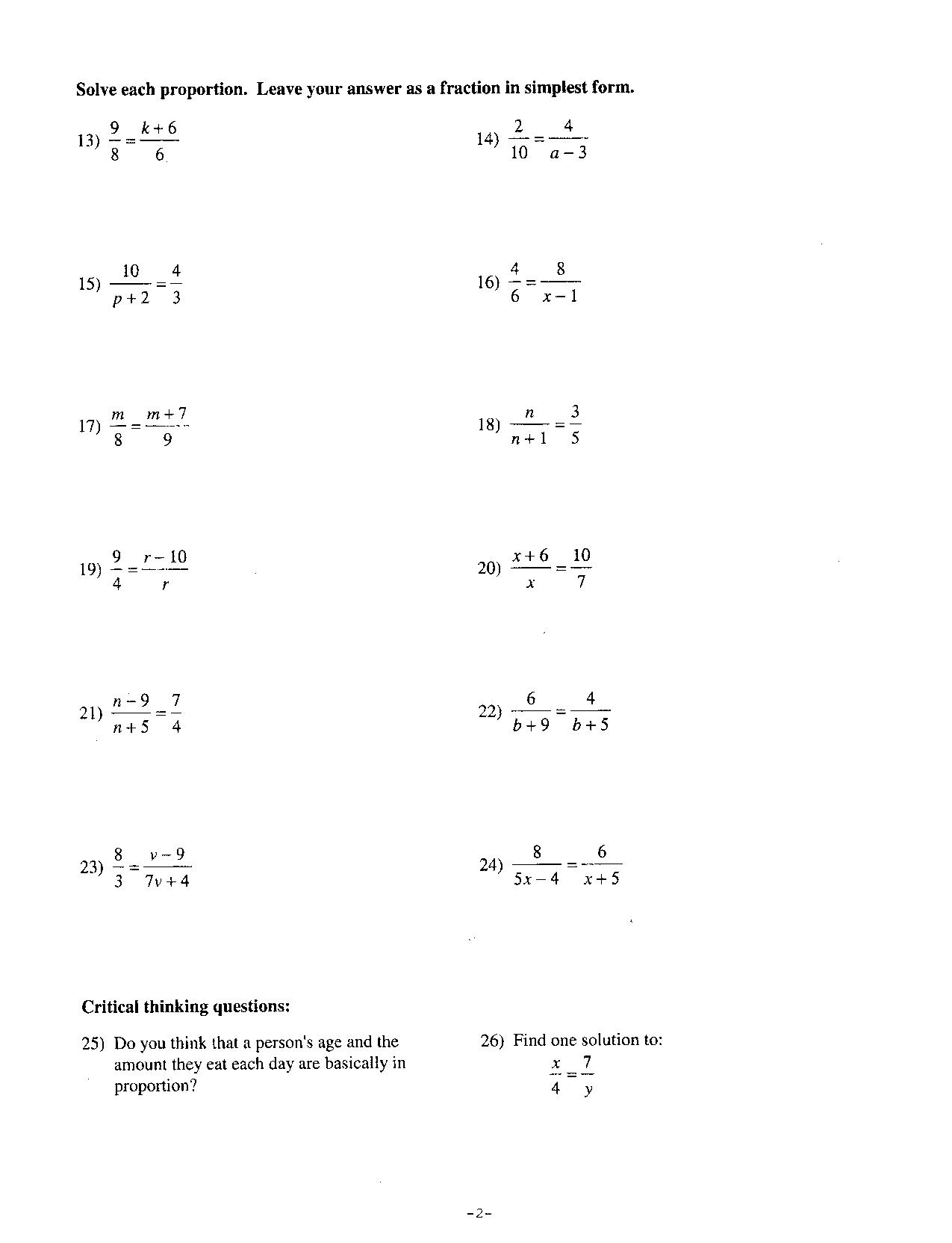 exponents worksheet further 8th grade pre algebra math worksheets ...